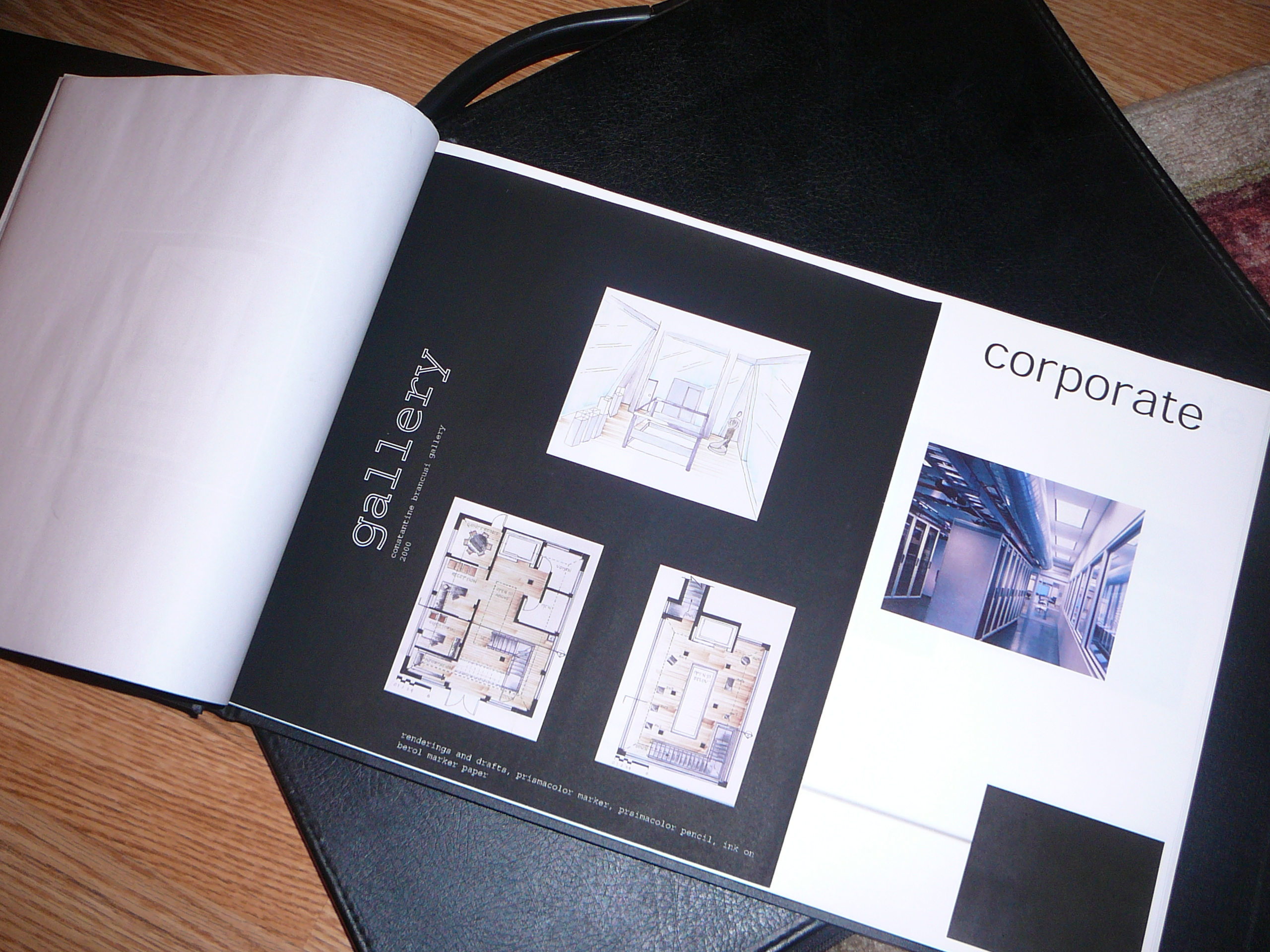 What should a portfolio look like? |