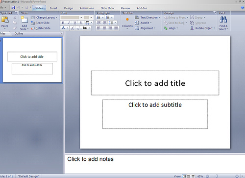 How to Create Scrolling Text in Microsoft Powerpoint