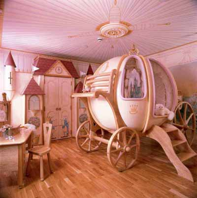 Princess Decor For a Girl's Bedroom
