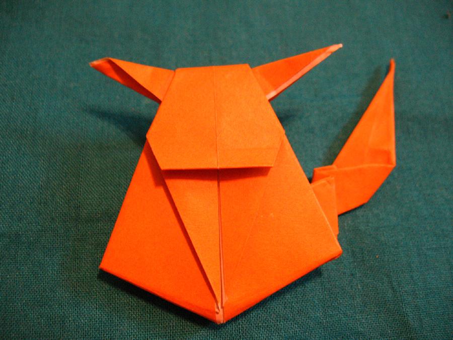Easy Origami Pikachu Tutorial | Pink Stripey Socks | 675x900