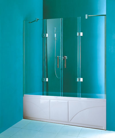 how install glass bathtub doors : Overview : Glass bathtub shower doors