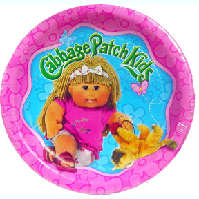 Cabbage Patch Birthday Party Plates (www.superpartysupply.com)