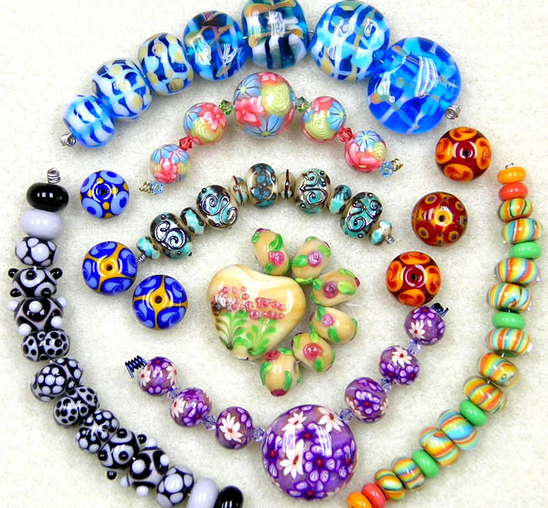 lampwork bead - pictures - Bloguez.com