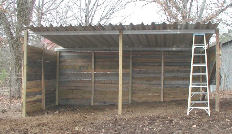 how build own horse shed