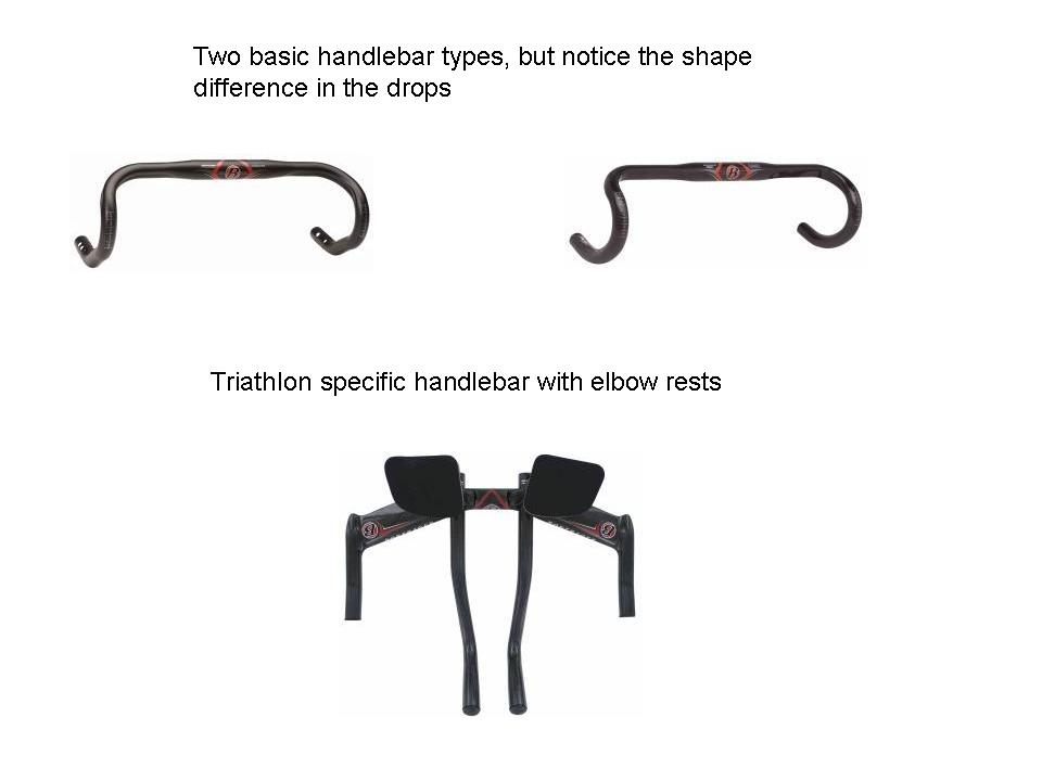 Bikes Handlebar Types Handlebar types don t forget