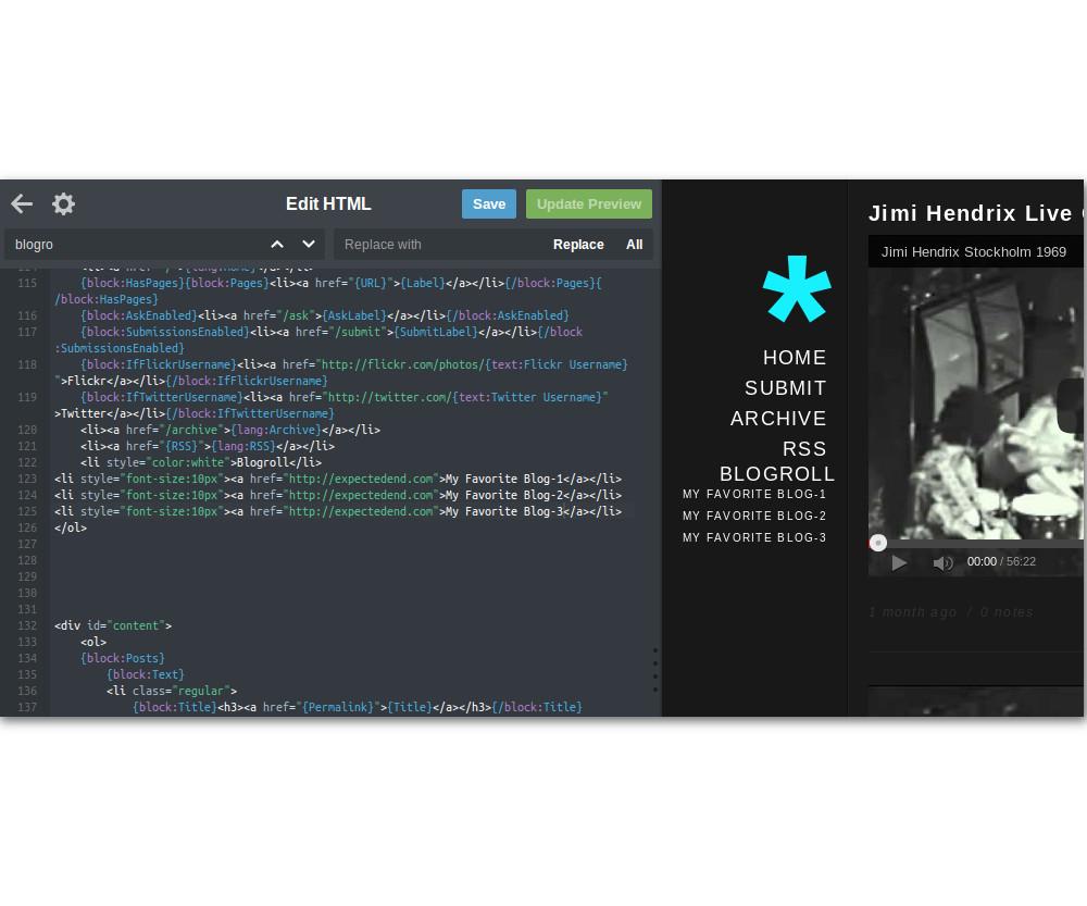 Adding Another Tumblr Sidebar | It Still Works