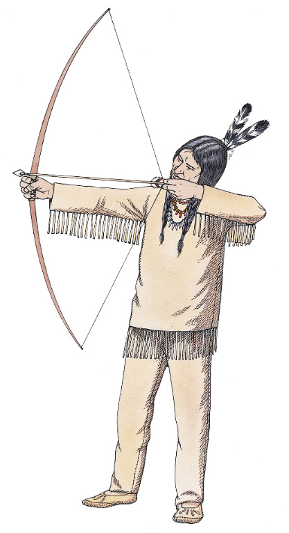 how to draw back a bow and arrow