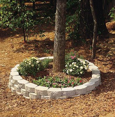 C mo construir una jardinera exterior circular de ladrillo - Tipos de jardineras ...