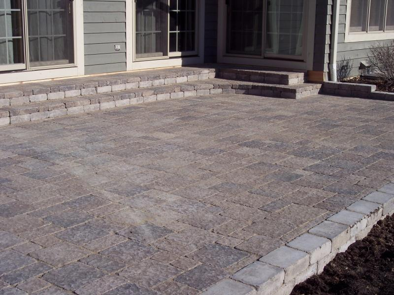 easy ways to build a stone block patio garden guides