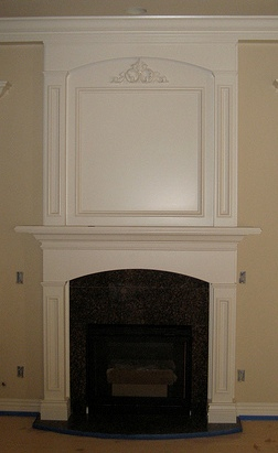 How To Install A Fireplace Mantel On Brick Ehow Uk