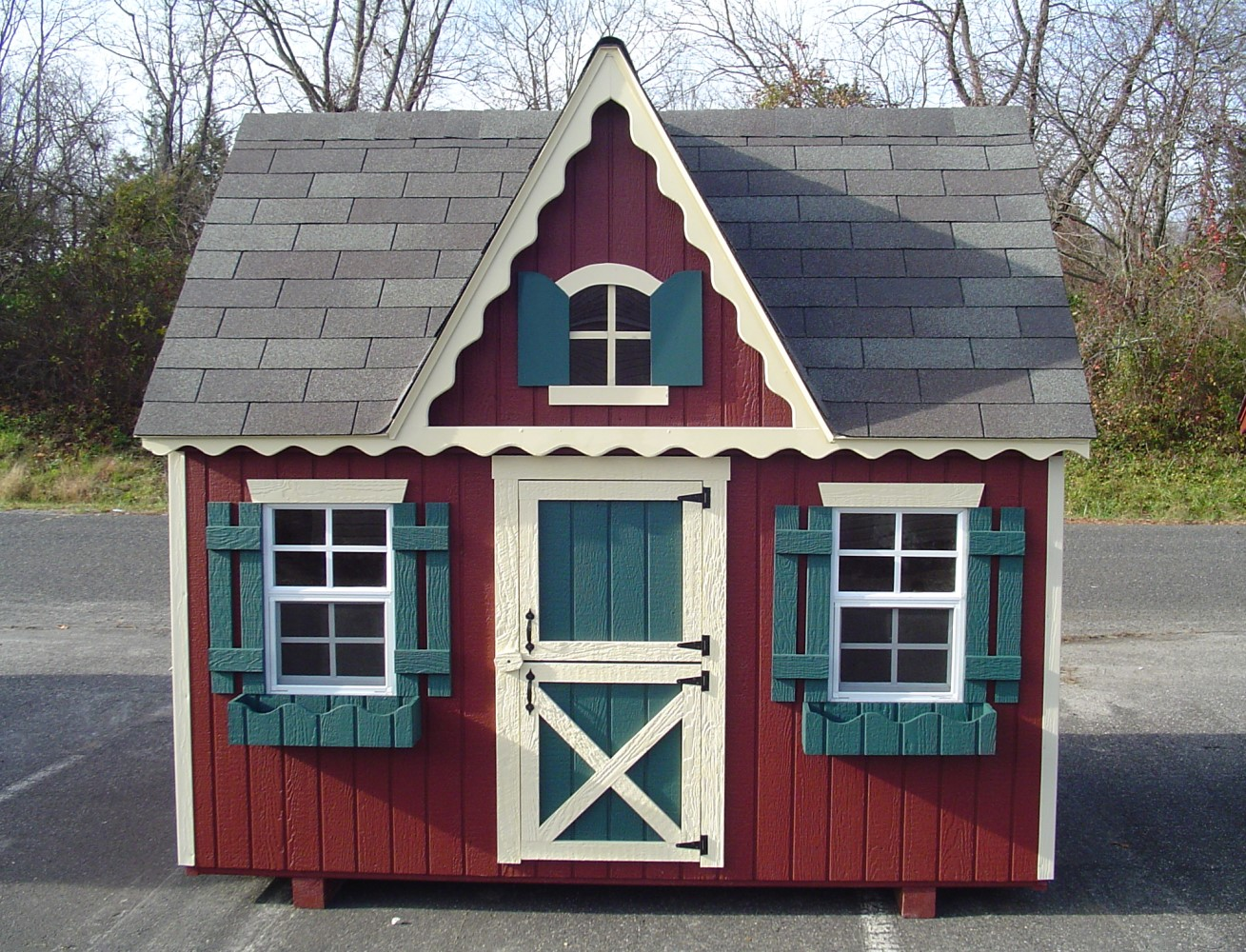 Outdoor children 39 s playhouse ideas ehow uk for How to build a 2 story playhouse