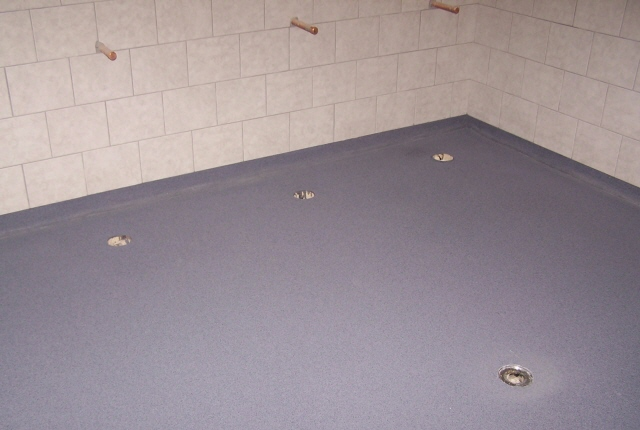 How Make Paint Stick To Concrete Shower Floor Ehow Uk