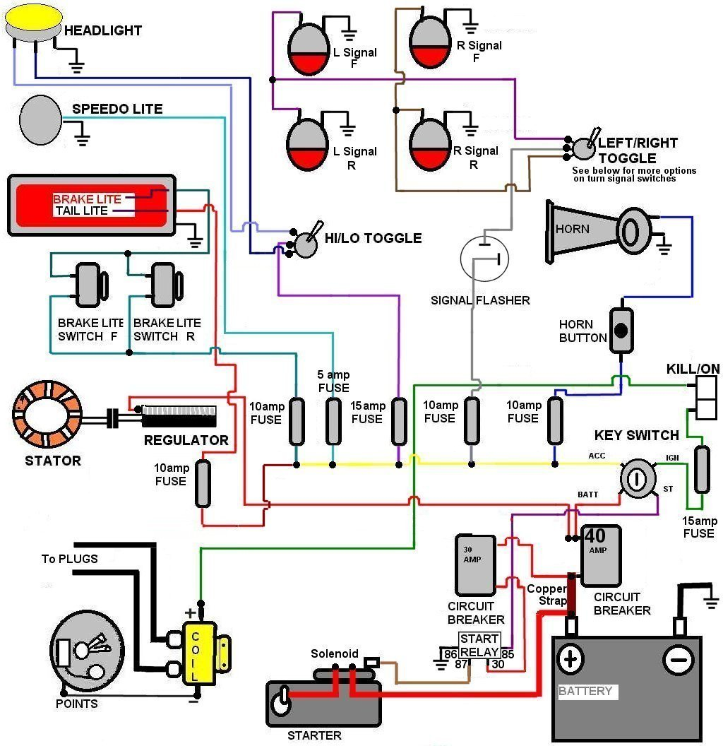 Fuel Shut Off Solenoid Wiring Diagram on trike motor wiring diagrams