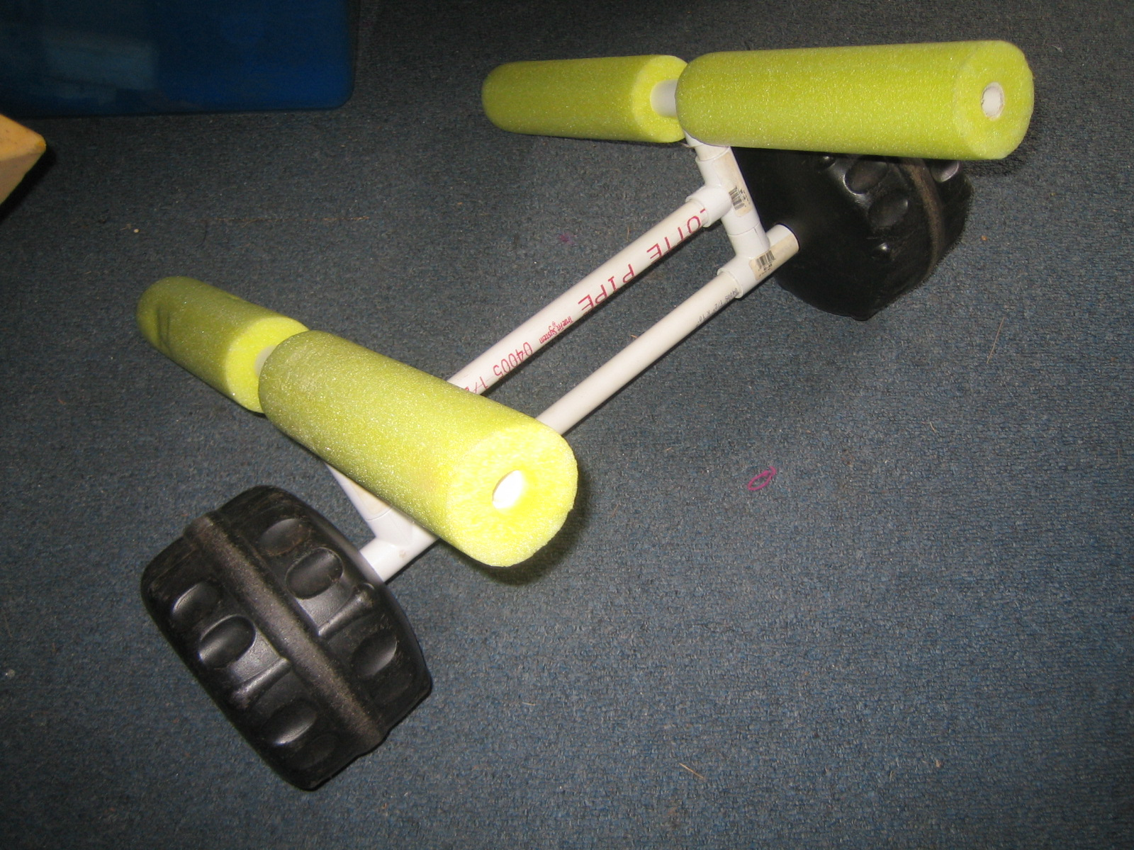 How To Make A Pvc Kayak Rack www.woodworking.bofusfocus.com