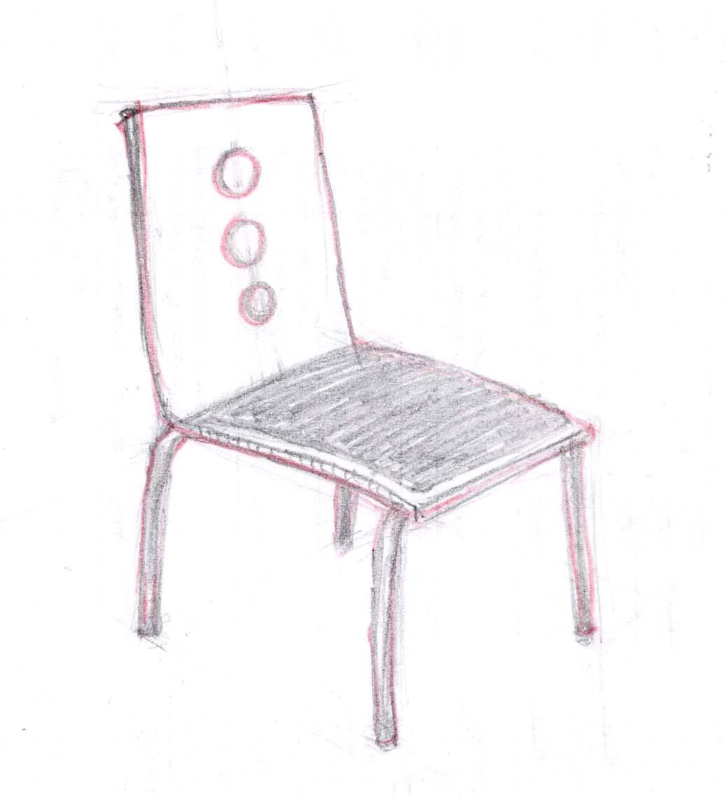 C mo dibujar una silla ehow en espa ol for Sillas para dibujar