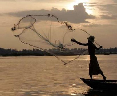 How to throw a fishing net usa today