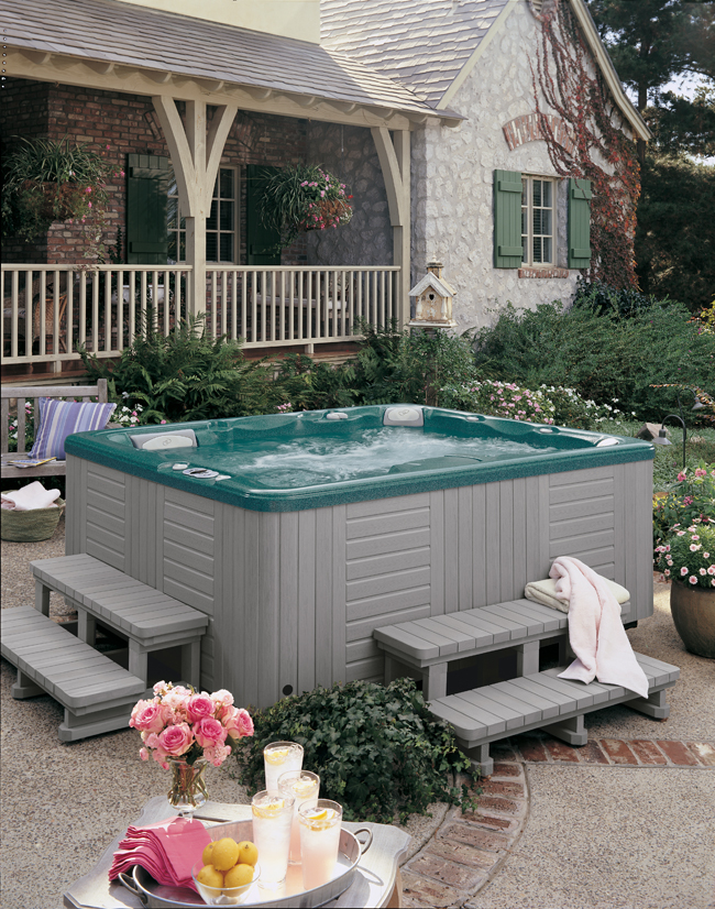 Ideas For Privacy Around Hot Tubs Hunker