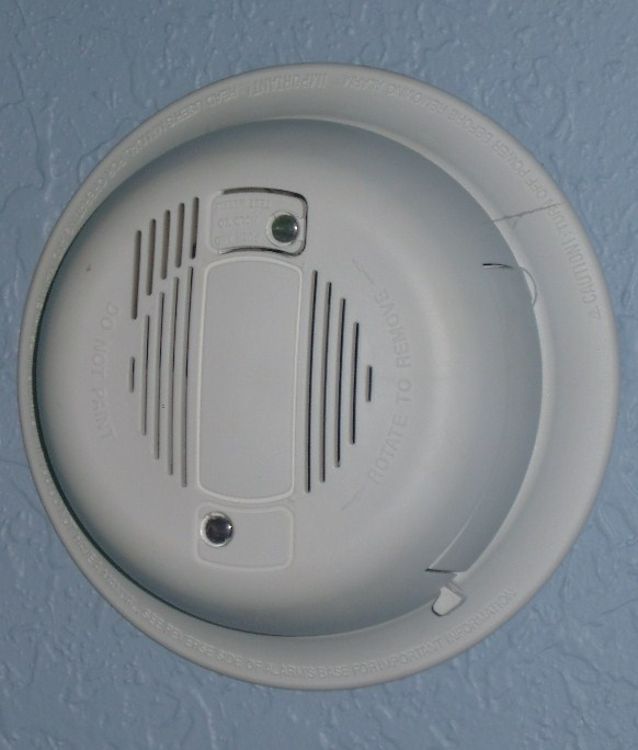 how to change the battery of a gire alarm