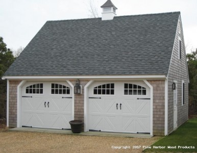 Estimating the cost of building a two car garage ehow uk for Carriage house plans cost to build