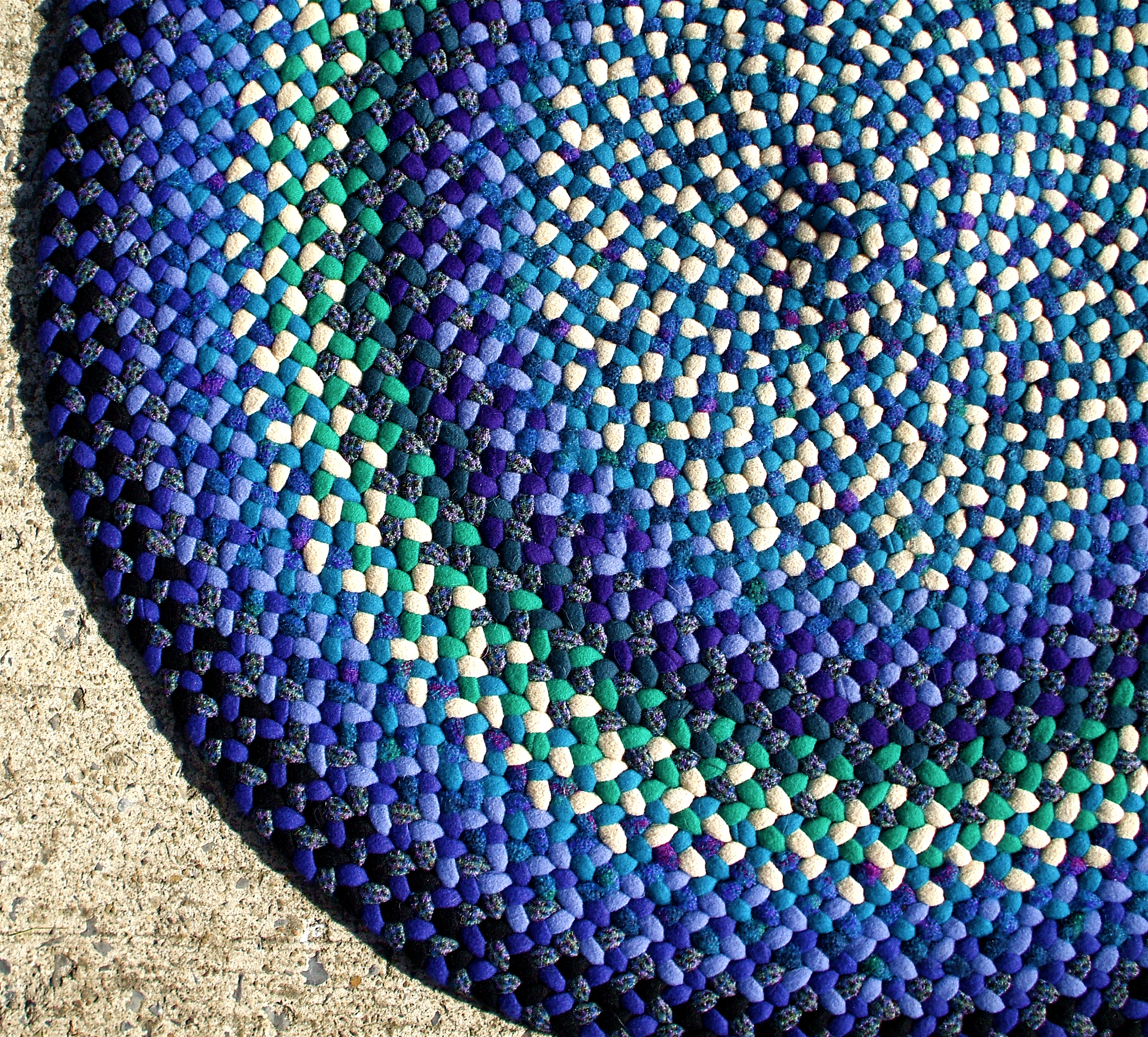 Free Braided Rag Rug Instructions