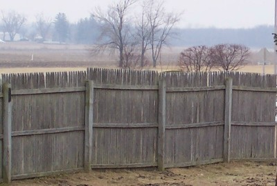 fence on uneven ground. how to install fence panels on uneven ground