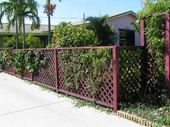 How to make temporary lattice walls ehow uk for Using lattice as fencing