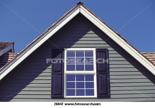 How to build a gable roof ehow uk for Box gable roof