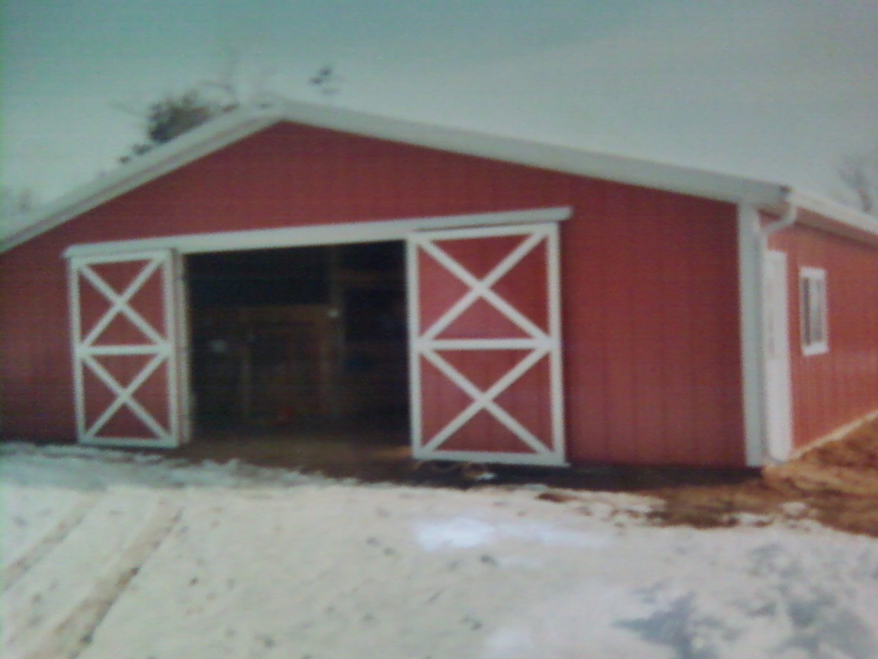 Cost to build a barn with living quarters joy studio for Cost of building a horse barn