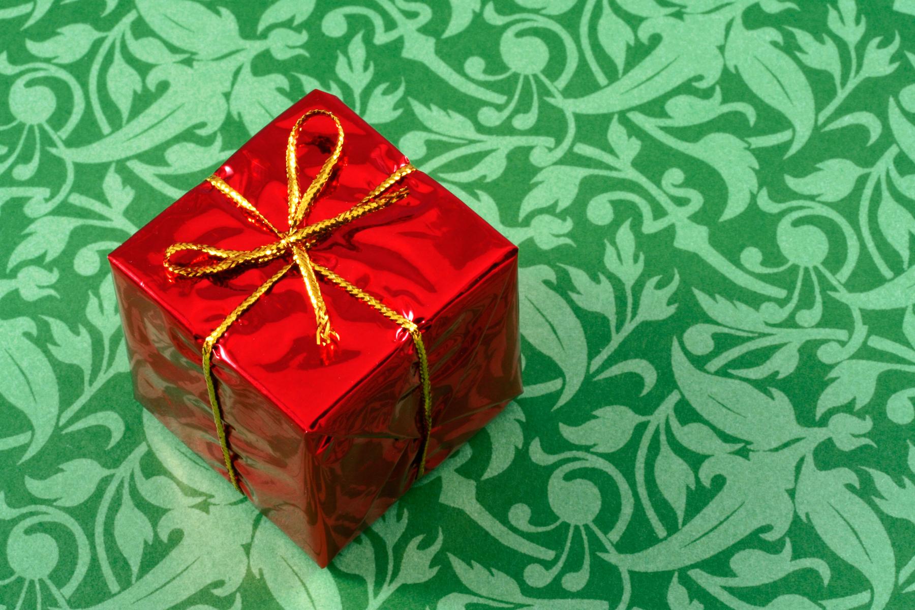 Самые популярные подарки в день