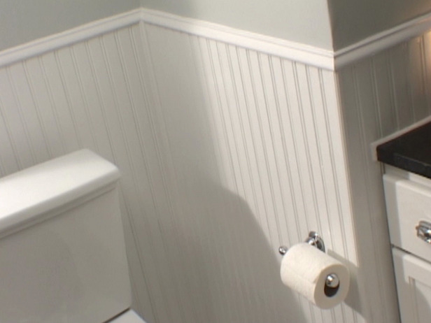 Bead board wainscoting ideas wainscoting installation - Bathroom wall paneling ideas ...