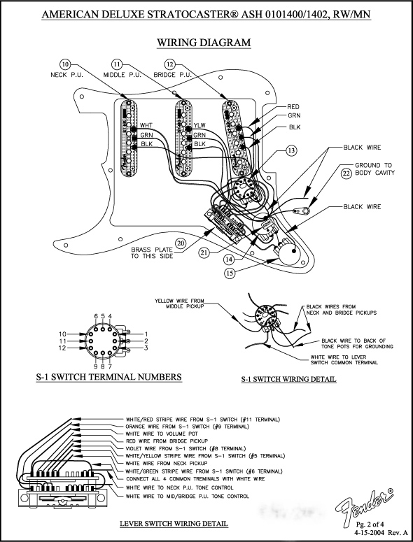 fender n3 pickup wiring diagram   31 wiring diagram images