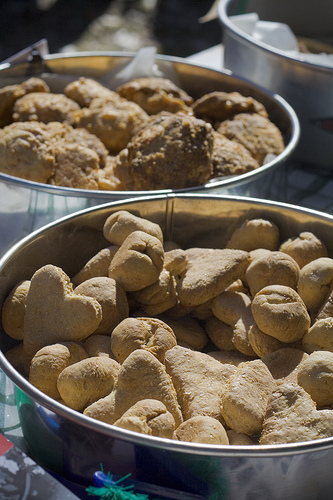 If you're a busy dog parent, you'll love how quick and easy these dog treats come together. In fact, we all like things that are easy, and dog treat recipes are no exception.