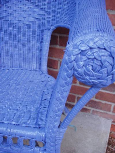 Tips On Painting Wicker Furniture Ehow Uk