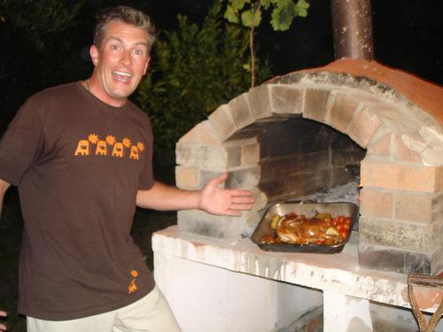 Proyecto para construir un horno de le a para pizza ehow - Construir horno lena ...